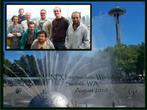 August 2010 Workshop in Seattle, WA